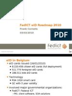 Fedict Eid Roadmap 2010