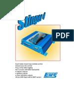 Stinger Manual