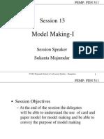 13 Model Making I
