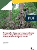 Protokol Pengukuran Karbon Hutan Magrove