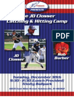 JD Closser Catching Camp