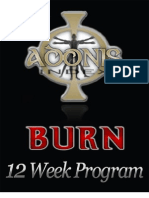 Adonis Burn Workout 2.0