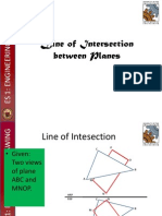 Line of Intersection of Planes