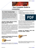 Pick A Guitar - Your Complete Guide to Guitars and Accessories