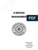 A Report on E-Waste by Kailash and Kapil
