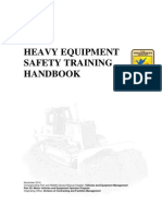 Heavy Equipment Safety Training Handbook