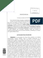 Sentencia Cascos Porto contra La Nueva España