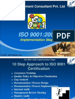 ISO 9000 Implementation Steps