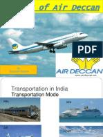 Air Deccan Ppt