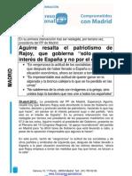 15 CONGRESO PP MADRID Discurso Reelección presidenta