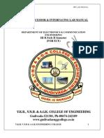 Mpi Lab Manual