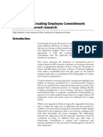 Defining and Creating Employee Commitment