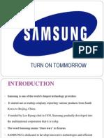 samsung company background