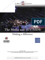 The Media and HIV AIDS Making a Difference