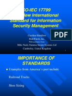 ISO-IEC 17799 the New International Standard for Information Security Management