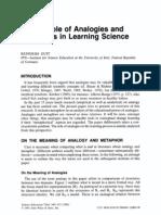 DUIT1991-RoleAnalogiesMetaphorsLearningScience