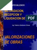A. Expo Sic Ion - Valorizaciones de Obra