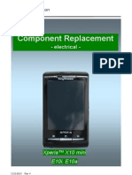 Sony Ericsson E10a E10i Xperia X10 Mini Component Replacement - Electrical Rev4