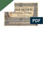El Método Palmer de Caligrafía Comercial