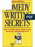 Melvin Helitzer - Comedy Writing Secrets