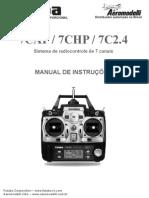 Manual Futaba 7C-2 4