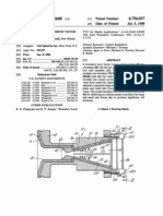 Control Vanes for Thrust Vector Control Nozzle