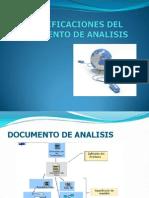 Especificaciones Del Documento de Analisis
