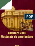 ASE - Subiecte Mastere 2008