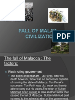 Fall of Malay Civilization