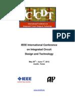 Icicdt Program 2012