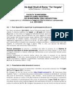 Bando Ingegneria Edile-Architettura a.a.2011-12