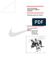 Marketing Project - Nike
