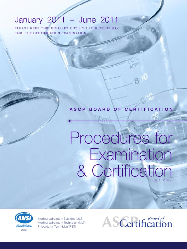 Ascp board of certification brochure medical laboratory ascp board of certification brochure medical laboratory professional certification 1betcityfo Images