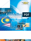 Guidelines Doing Business in Malaysia
