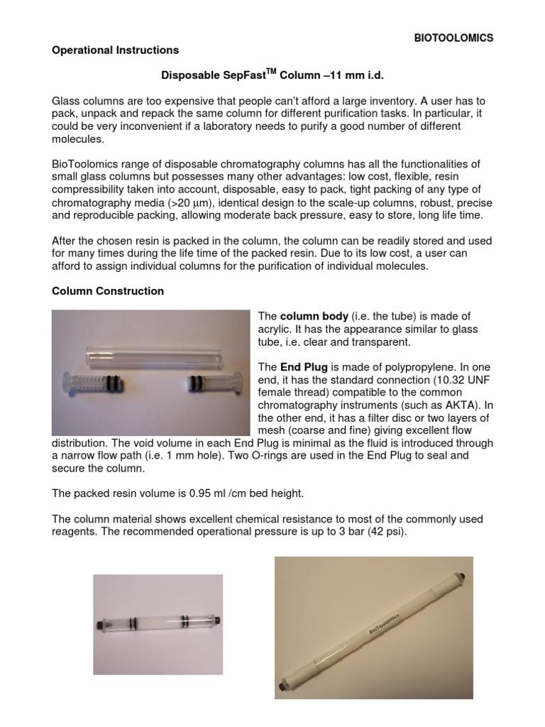 11mm Column Syringe Electrical Connector