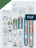 Costa Concordia Deck Plans