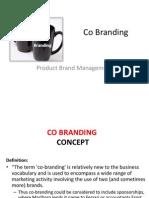 Co Branding -Ppt