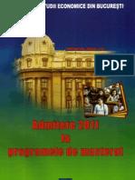 Subiecte Admitere Master ASE 2010