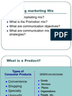 Devoloping Marketing Mix