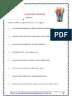 orações coordenadas e subordinadas - exercícios3 (blog8 11-12)