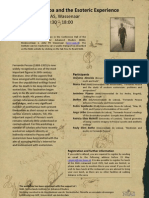 Pessoa and the Esoteric Experience Poster