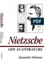 Nietzsche Life as Literature