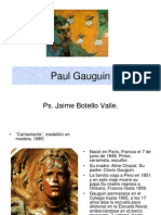 Paul Gauguin. Ps. Jaime Botello Valle