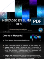 Mercadeo y Estrategias en El Mundo Real