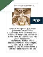 MENSAGEM - A COMUNHÃO ESPIRITUA 02L - CASAIS EM SEGUNDA UNIÃO - 2012
