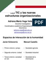 Adriana Vega - Las TIC y Las Nuevas Estructuras Organizacionales