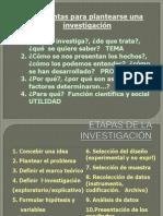 Etapas de La Investigacion11