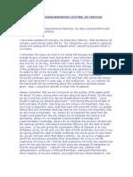 Chennai IIT Lecture Transcription