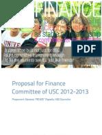 Fin Proposal