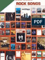 Best Rock Songs 2000-2005 Songbook)